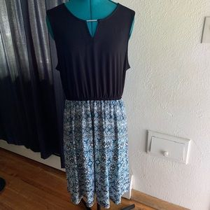 41 Hawthorn Stitch Fix Black Sleeveless Dress SZ